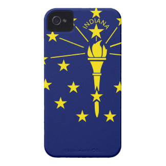 Flag Map Of Indiana iPhone 4 Case