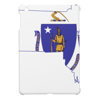 Flag Map Of Massachusetts iPad Mini Case