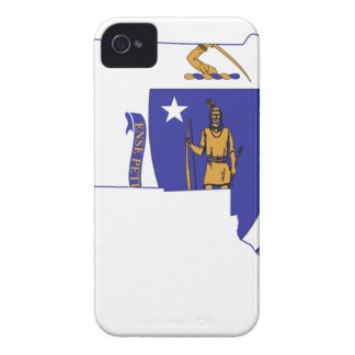 Flag Map Of Massachusetts iPhone 4 Cover