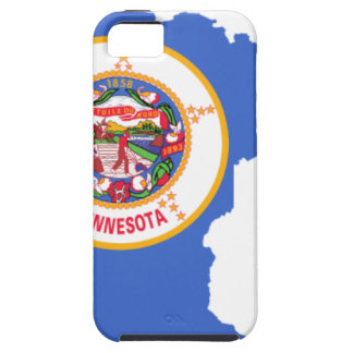 Flag Map Of Minnesota Case For The iPhone 5
