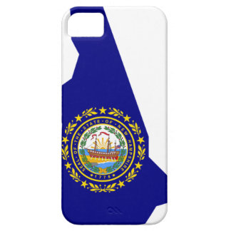 Flag Map Of New Hampshire iPhone 5 Cases