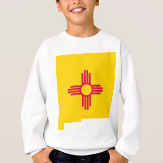 Flag Map Of New Mexico Sweatshirt