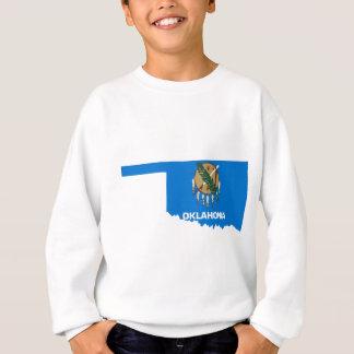 Flag Map Of Oklahoma Sweatshirt