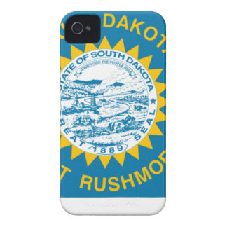 Flag Map Of South Dakota iPhone 4 Case