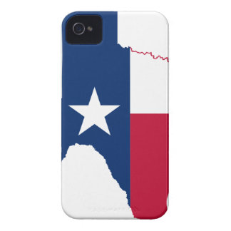 Flag Map Of Texas iPhone 4 Case