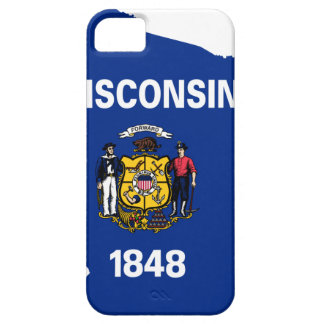 Flag Map Of Wisconsin iPhone 5 Cover