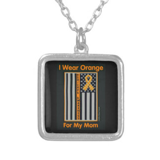 Flag/Mom...RSD/CRPS Silver Plated Necklace