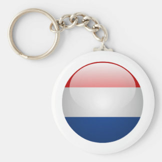 Flag Netherlands Key Ring