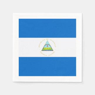Flag: Nicaragua Paper Napkin