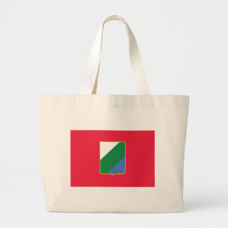 Flag_of_Abruzzo Large Tote Bag