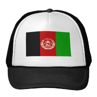 Flag of Afghanistan Mesh Hats