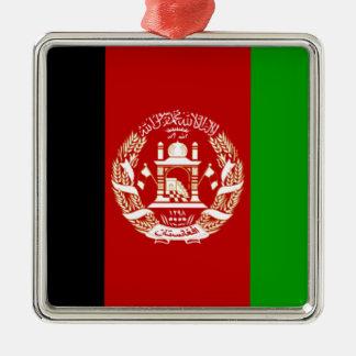 Flag of Afghanistan Metal Ornament