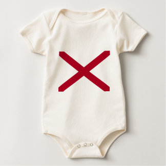 Flag Of Alabama Baby Bodysuit