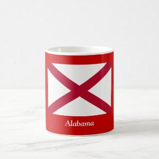 Flag of Alabama Basic White Mug