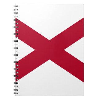 Flag Of Alabama Notebook