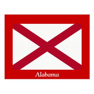 Flag of Alabama Postcard