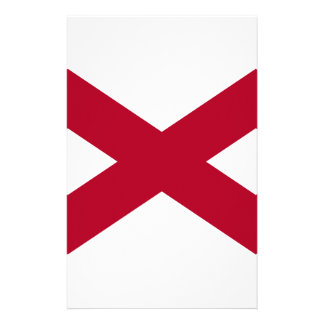 Flag Of Alabama Stationery