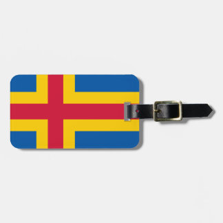 Flag of Åland Luggage Tag