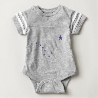 Flag of Alaska Baby Bodysuit
