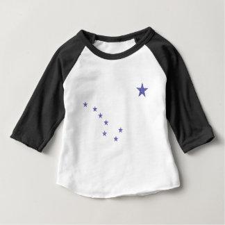 Flag of Alaska Baby T-Shirt