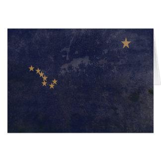 FLAG OF ALASKA CARD