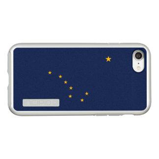 Flag of Alaska Silver iPhone Case