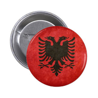 Flag of Albania Buttons