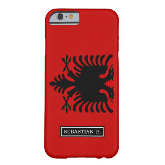 Flag of Albania Barely There iPhone 6 Case