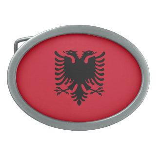 Flag of Albania Belt Buckles