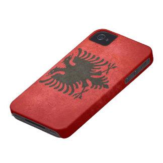 Flag of Albania iPhone 4 Case-Mate Case