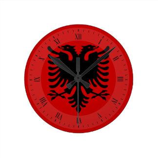 Flag of Albania Clock