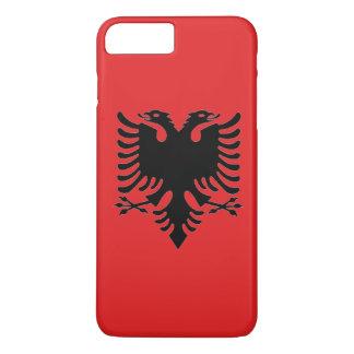 Flag of Albania Double-Headed Eagle iPhone 7 Plus Case