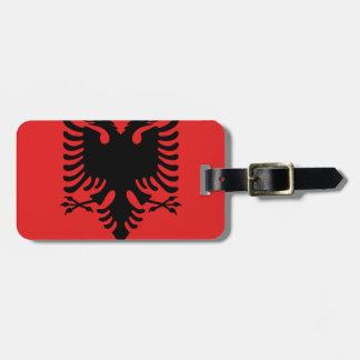 Flag of Albania - Flamuri i Shqipërisë Bag Tag