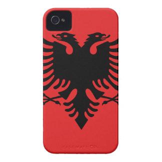 Flag of Albania - Flamuri i Shqipërisë Case-Mate iPhone 4 Case