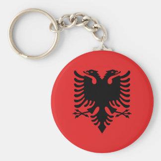 Flag of Albania - Flamuri i Shqipërisë Key Ring