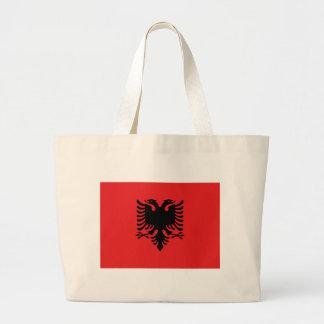 Flag of Albania - Flamuri i Shqipërisë Large Tote Bag