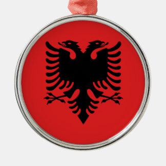 Flag of Albania - Flamuri i Shqipërisë Metal Ornament