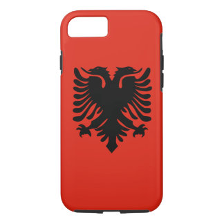 Flag of Albania iPhone 7 Case