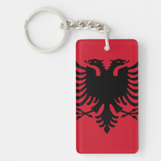Flag of Albania Keychain