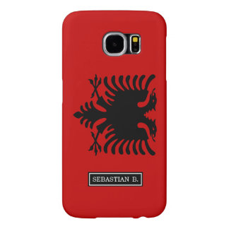 Flag of Albania Samsung Galaxy S6 Cases