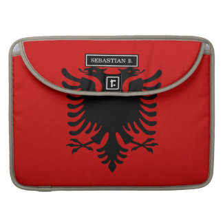 Flag of Albania Sleeves For MacBook Pro