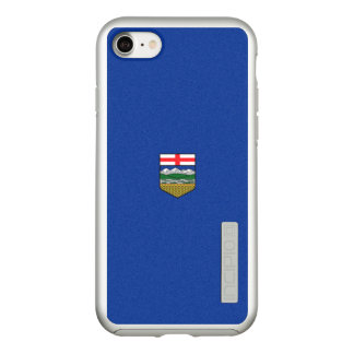 Flag of Alberta Silver iPhone Case
