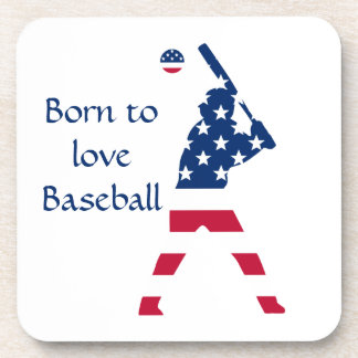Flag of America Baseball American Coaster