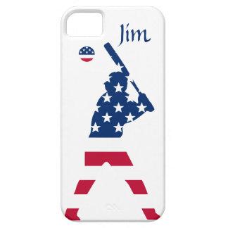 Flag of America Baseball American iPhone 5 Cover