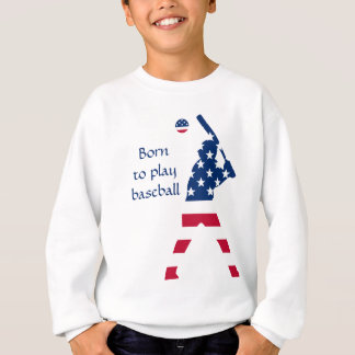 Flag of America Baseball American Sweatshirt
