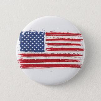 Flag of America icon 6 Cm Round Badge
