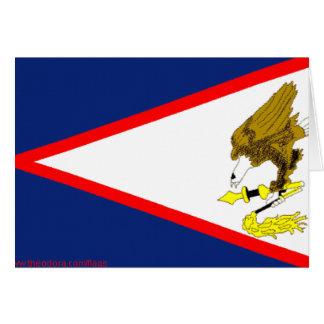 Flag of American Samoa Greeting Card