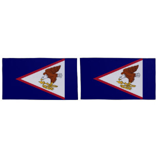 Flag of American Samoa king Pillowcase