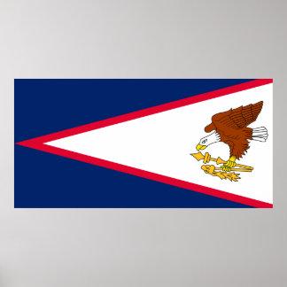 Flag of American Samoa Poster