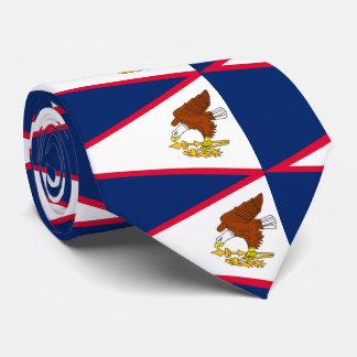 Flag of American Samoa Tie